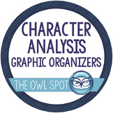 Character Analysis Graphic Organizers