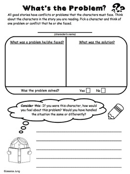 Character Analysis - Graphic Organizers & Activities