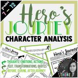 Character Analysis - Hero's Journey