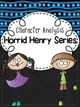 Character Analysis Horrid Henry FREEBIE