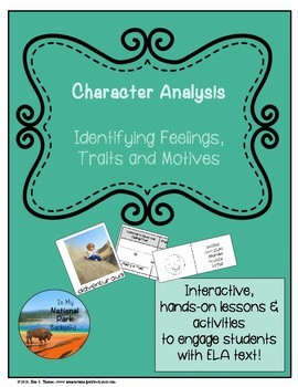 Character Analysis--Identifying Feelings, Traits and Motives with IMNPB