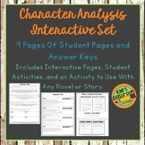 Character Analysis Guided Notes - Understanding Different Types of Characters
