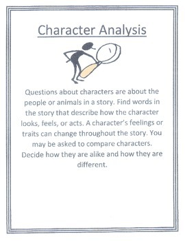 Character Analysis Mini-Lessons