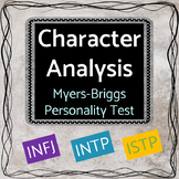 Character Analysis - Personality Test Activity