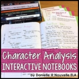 Character Analysis PowerPoint and Essay for Interactive Notebooks