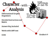 Character Analysis Project - Fire and Ice Charts