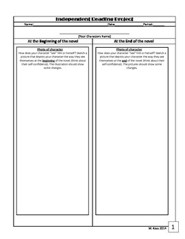 Character Analysis Project With A Social Media Twist! (Rubric Included)