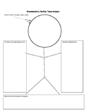 Character Analysis Stick Figure