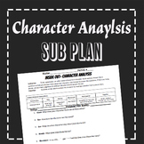 EMERGENCY SUB PLAN: Character Analysis