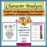 Character Analysis Through the Secret Language of Flowers