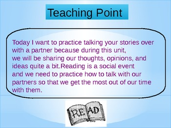 Character Analysis Unit for Reader's Workshop - Powerpoint