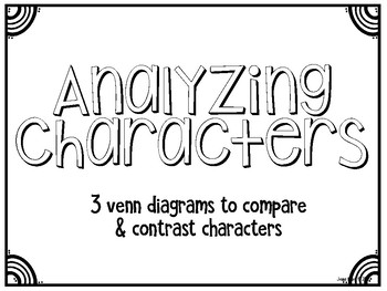 Character Analysis Venn Diagrams