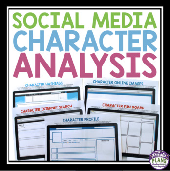 CHARACTER ANALYSIS ASSIGNMENTS