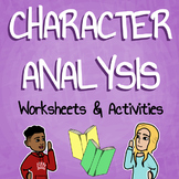 Character Analysis Worksheet Packet