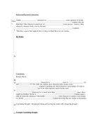 Character Analysis Worksheet and Outline