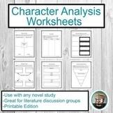 Character Analysis Worksheets