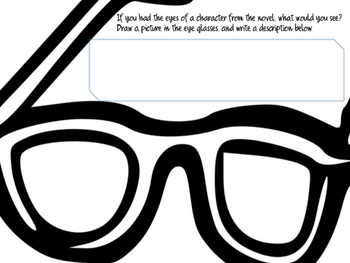 Character Analysis Worksheets for Any Novel!