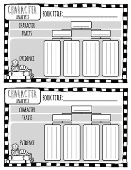Character Analysis and Sequencing Graphic Organizers
