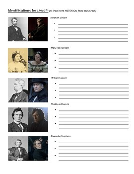 Character Analysis from Steven Spielberg's Film, Lincoln