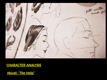 Character Analysis of the Novel : 'The Help'