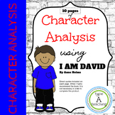 Character Analysis using I Am David by Anne Holms
