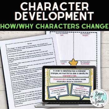 Character Analysis/Development PowerPoint Mini-Lesson (Gra