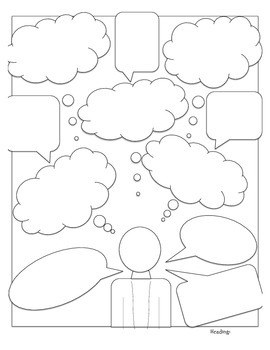 Character Analysis/Perspective Thought Bubbles Common Core