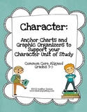 Character:  Anchor Charts and Graphic Organizers to Suppor