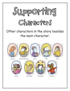 Character Anchor Charts with Kevin Henkes