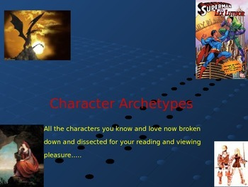 Character Archetypes: All those Characters We Know and Love!!