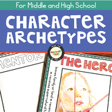 Character Archetypes Pennant Banner