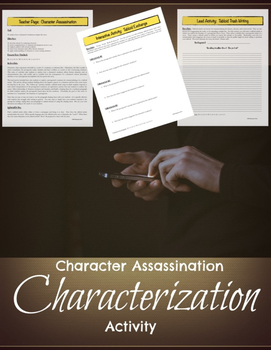 Characterization Mini-lesson: Analyzing Character Flaws {C