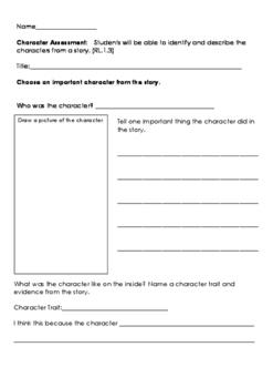 Character Assessment