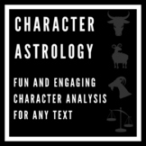 Character Astrology: Character Analysis for ANY TEXT