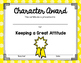 Character Award Certificates FREEBIE