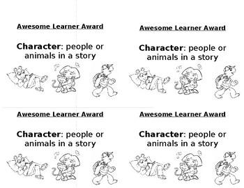 Character Awards