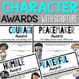 Character Awards {With Scripture}