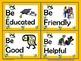 """Character """"BEES"""" ABC Word Wall Set"""