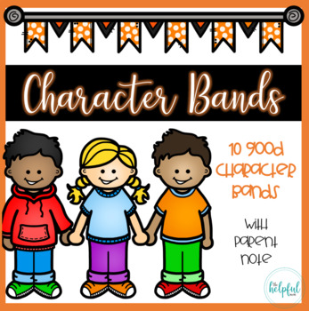 Character Bands (B/W) *with parent notes*