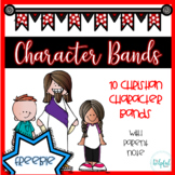 Character Bands - Religious (B/W) *with parent note* SAMPLE