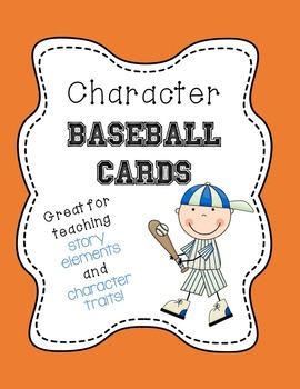 Character Baseball Cards