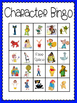 Character Bingo (30 completely different cards & calling c