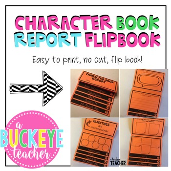 Character Book Report Flipbook
