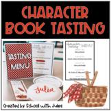 Character Book Tasting (editable)