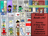 Bookmark Bundle: Harry Potter, Alice, Wizard of Oz, Superheros
