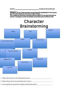 Character Brainstorming