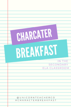 Character Breakfast ALL YOU NEED!