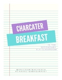 Character Breakfast Lesson Plan
