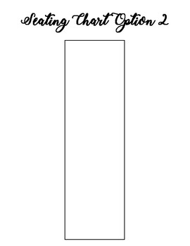 Character Breakfast- Seating Chart