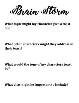 Character Breakfast- Toast